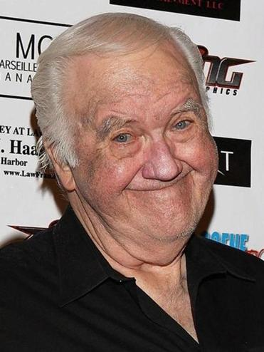 "In this Sept. 10, 2010, photo, Chuck McCann Motorcycle Charity Associates presents its 4th annual Leather Meets Lace event benefiting Iraq Star Foundation and Heroes Night Out at the Playboy Mansion Los Angeles. Actor and comedian McCann, who recorded the famous line ""I'm cuckoo for Cocoa Puffs!"" has died. He was 83. His publicist Edward Lozzi says McCann died Sunday, April 9. 2018, of congestive heart failure in a Los Angeles hospital. (Rachel Worth/Lozzi Media Services via AP)"