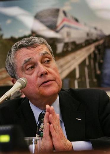 David Gunn, the former chief executive of Amtrak.