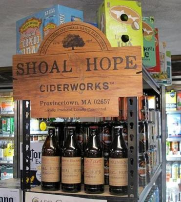 Shoal Hope Ciderworks produces four flavors of cider.