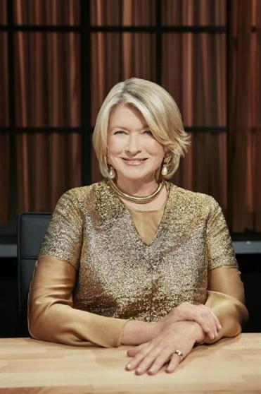 "Martha Stewart on ""Chopped."""