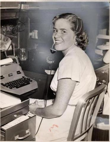 Mrs. Gill, according to her family, was hired by the Globe in the mid-1940s and her family's connection to the paper spanned 70 years.