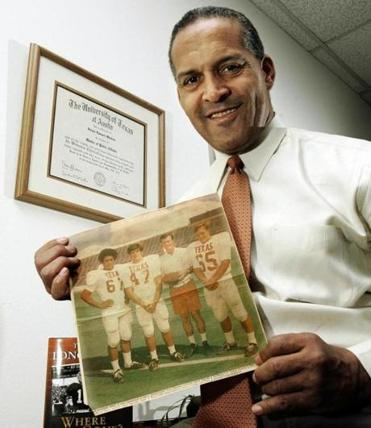 Mr. Whittier was the Texas Longhorns' first African-American letterman, making his debut in 1970.