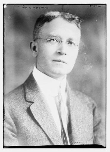 Dr. William Creighton Woodward between circa 1910 to 1915 via Bain News Service (Library of Congress).