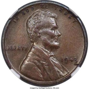 Don Lutes Jr. found this rare penny in 1947.