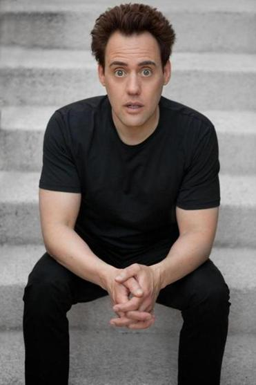 "Orny Adams says, ""If you think I'm that guy onstage all through life, I mean, I would have died of a heart attack by now."""
