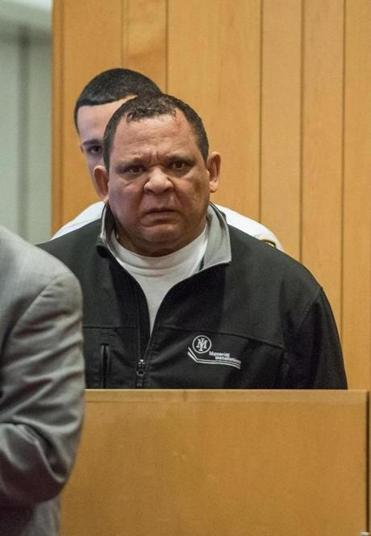 Miguel Rivera lors de sa mise en accusation.