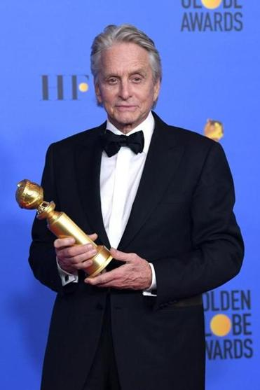 """The Kominsky Method"" star Michael Douglas won the Golden Globe for actor in a TV series, musical or comedy."