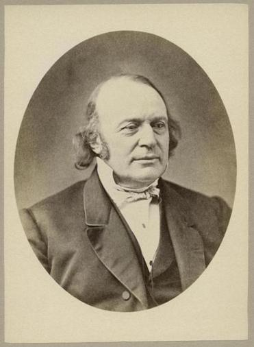 Louis Agassiz 1807-73, Swiss-American Biologist and Geologist, Head and Shoulders Portrait. (Photo by: Universal History Archive/UIG via Getty Images)