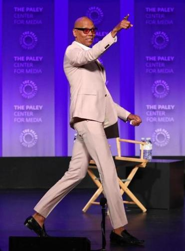 RuPaul's talk show will run daily beginning June 10 on Fox TV channels, with hopes of getting a more permanent spot in the fall.