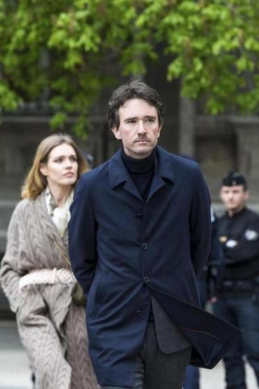Antoine Arnault, son of LVMH president Bernard Arnault, and his wife, Russian model Natalia Vodianova, arrived at Notre Dame on Tuesday.