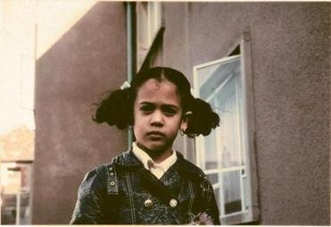Kamala Harris at age 7 December 1971