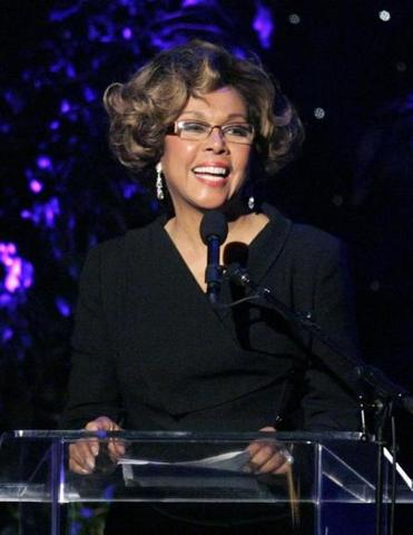 Diahann Carroll was remembered by her TV son after the actress's death last week.