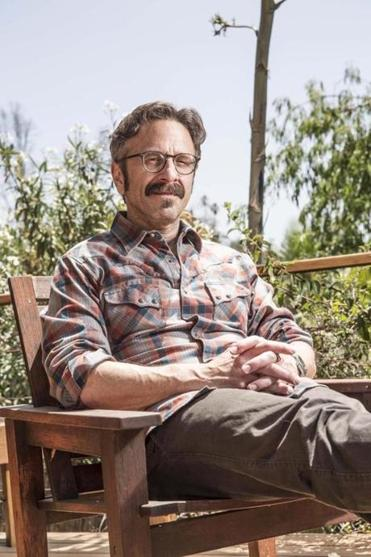 Comedian, actor, and podcaster Marc Maron.