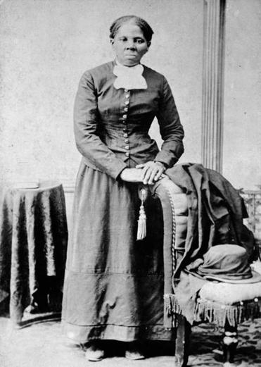 Tubman in a photo from between 1860 and 1875.