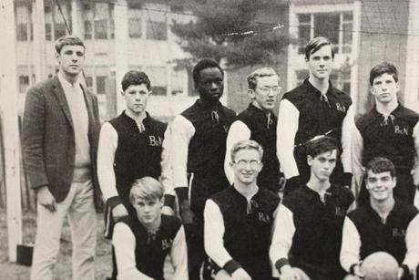 Onyango Obama played soccer and joined the debate and newspaper clubs at the former Browne & Nichols School in Cambridge.
