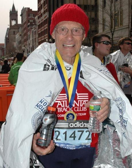At 81, Clarence Hartley, a retired lieutenant colonel in the Air Force from Young Harris, Ga., was the oldest runner in last year's Boston Marathon, which had 464 runners age 65 and older.