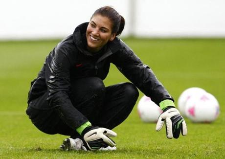 US women's soccer player Hope Solo ranted on Twitter against former player Brandi Chastain, who criticized the defensive play of team member Rachel Buehler during an NBC telecast.