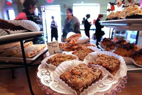 The Harvard Sweet Boutique, which is celebrating its one-year anniversary in Hudson, is an example of suburban foodies making their mark.