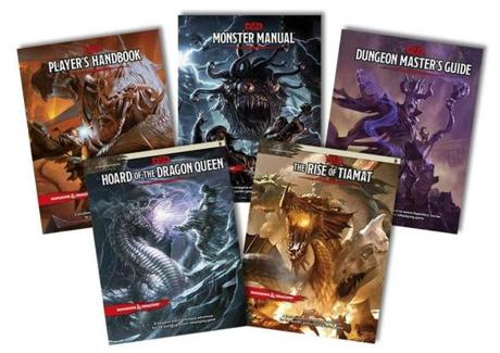Some updated player's and dungeon master's guides for D&D.