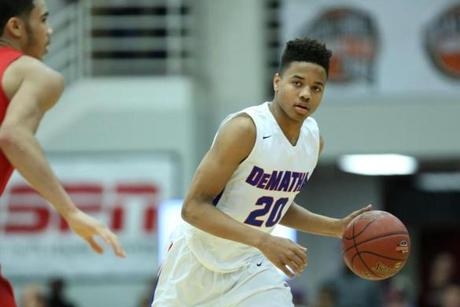 Markelle Fultz was cut from the varsity at DeMatha as a sophomore.