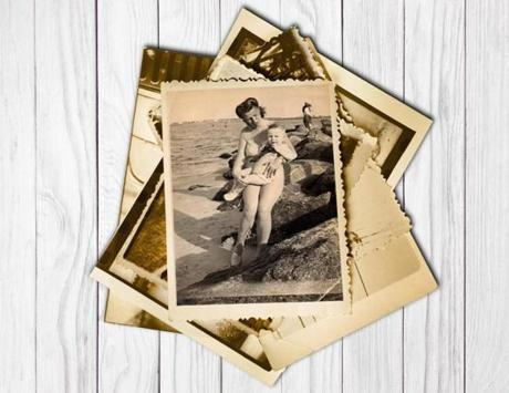 Jim Graham (cq) is held by his mother Helen Graham (cq) at Rockaway Beach in NY in 1947 when he was about two years old and a full time resident of the Foundling Hospital, an orphanage in NYC. Helen visited her son once a week on her day off and paid $2 a day for his care. Handout - for the Boston Globe