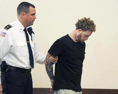 Thomas Latanowich was brought into Barnstable District Court on Friday for his arraignment.