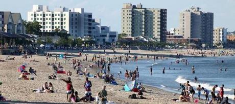 Revere, MA - 7/2/2017 - Revere Beach is reachable by the T. Photo by Pat Greenhouse/Globe Staff Topic: bestbeaches Reporter: XXX