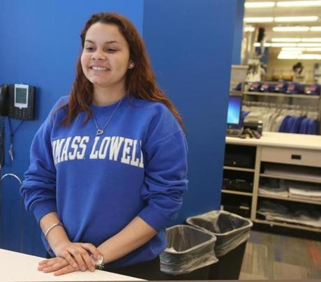 While a student at UMass Lowell, Restrepo worked at the school's bookstore. She was studying political science and talked excitedly about her courses.