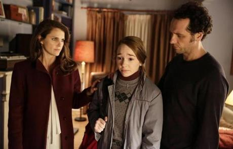 "From left, Keri Russell, Holly Taylor, and Matthew Rhys in FX's ""The Americans."""