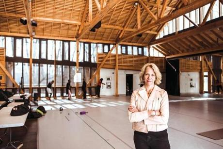 Pamela Tatge has expanded the Jacob's Pillow season since she took over as director in 2016.