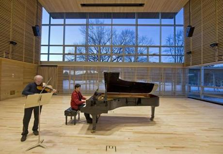 The Linde Center for Music and Learning was built to house the brand-new, year-round Tanglewood Learning Institute and its more than 140 programs.