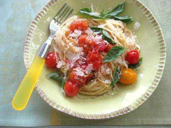 Recipe Foraangel Hair Pasta With Cherry Tomatoes And Basil