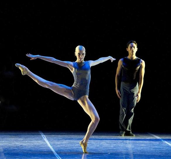 Dancers Jeffrey Cirio Whitney Jensen Leaving Boston