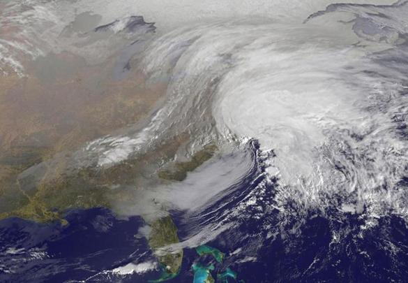 A major snowstorm descended on the Northeast Friday morning.