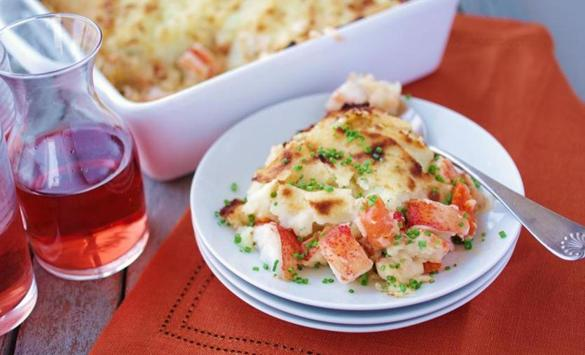 Recipe for Lobster shepherd's pie - The Boston Globe