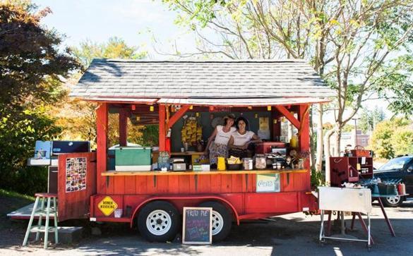 Hot Dog Cart Boston