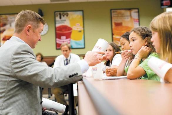 Park School kids want clean alternative to Styrofoam cups - The Boston Globe