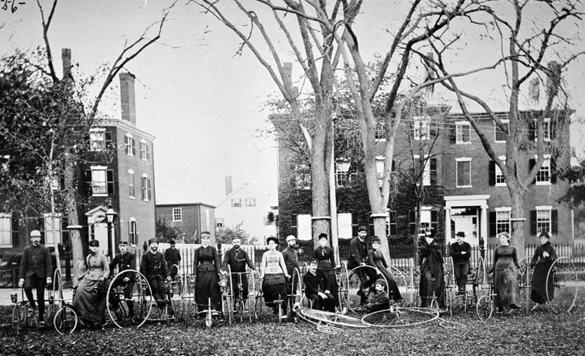 History of cycling reveals sharing roads is not a new challenge - The Boston Globe