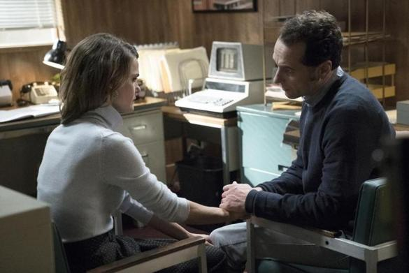 "Keri Russell and  Matthew Rhys play Russian undercover spies in ""The Americans."""