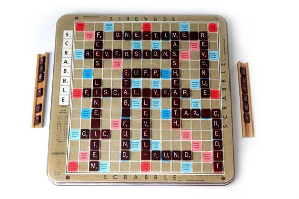 Boston Ma 02/25/2015 Scrabble Board..Globe Staff/Photographer Jonathan Wiggs Topic: Reporter