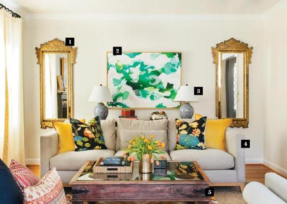 A Living Room Makeover In A Rhode Island Ranch Magazine The Boston Globe