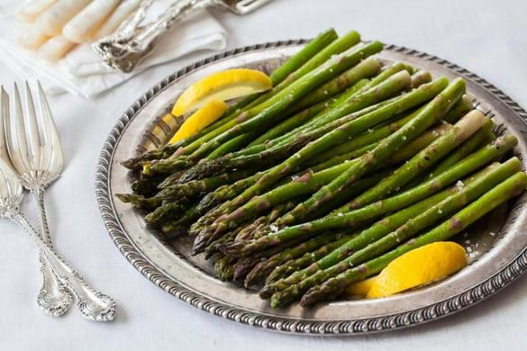 Recipe for roasted asparagus with miso butter - Food & dining - The ...