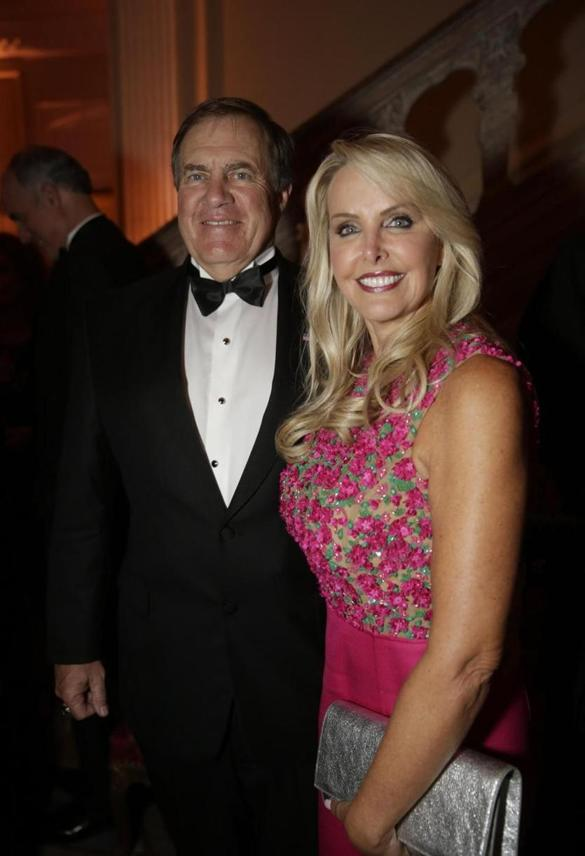 Bill Belichick and Linda Holliday took part in a romantic