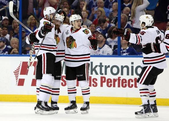 Blackhawks rally, take Game 1 against Lightning - Sports - The Boston