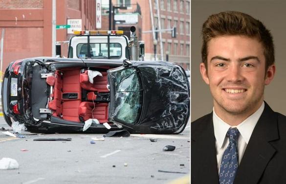 Boston Car Accident Connor Darcey