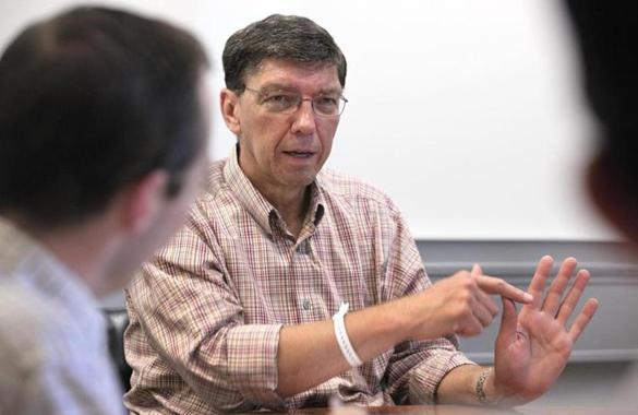 Clay Christensen explains, defends 'disruptive innovation'