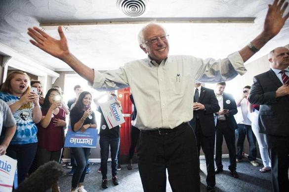 Bernie Sanders soldiers on against the odds, raising concern he is 'zombie' damaging Hillary Clinton