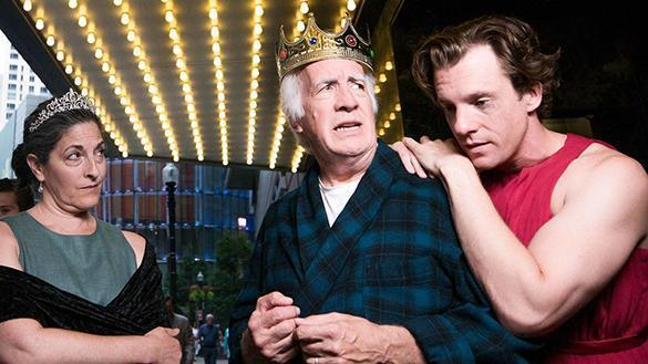 Sarah Newhouse, Richard Snee, Jesse Hinson. Exit The King. (Nile Hawver) 10falltheaterpicks