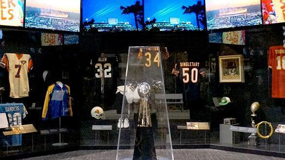 """Gridiron Glory"" will include more than 200 artifacts from the 125-year history of professional football."