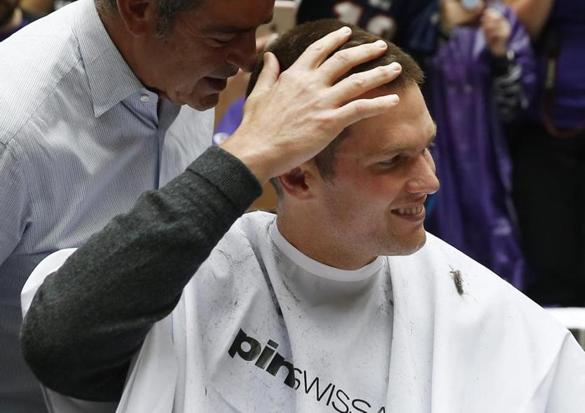 Tom Brady got a haircut last week.